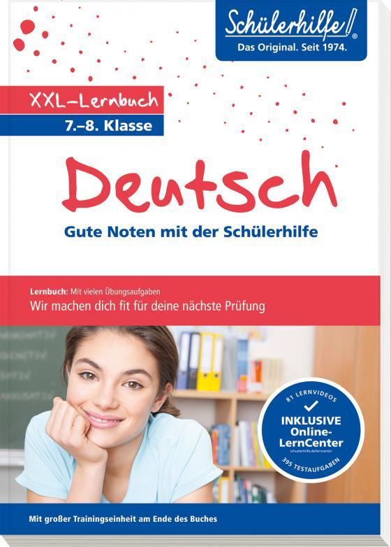 Cover-Bild XXL-Lernbuch Deutsch 7./8. Klasse