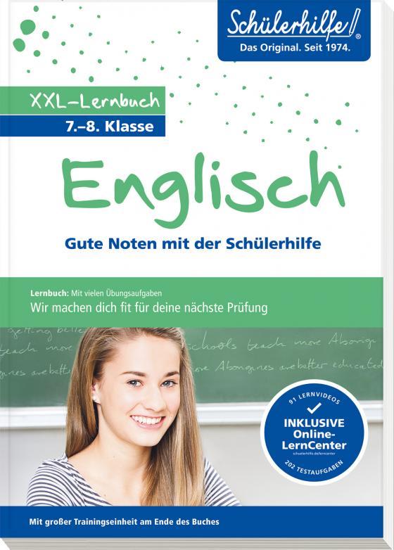 Cover-Bild XXL-Lernbuch Englisch 7./8. Klasse