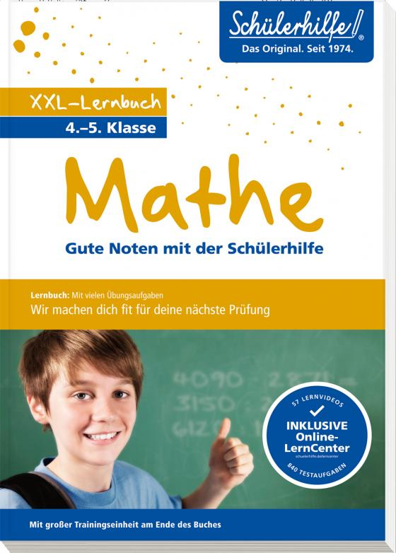 Cover-Bild XXL-Lernbuch Mathe 4./5. Klasse