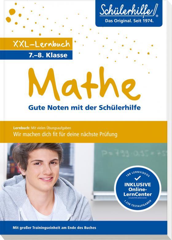 Cover-Bild XXL-Lernbuch Mathe 7./8. Klasse