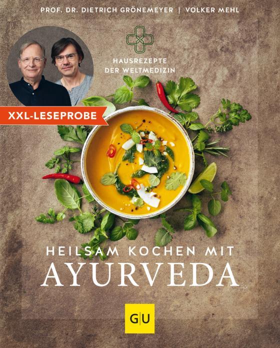 Cover-Bild XXL-Leseprobe: Heilsam kochen mit Ayurveda