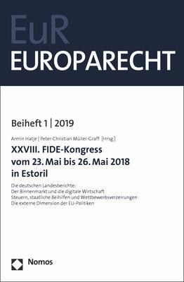 Cover-Bild XXVIII. FIDE-Kongress vom 23. Mai bis 26. Mai 2018 in Estoril