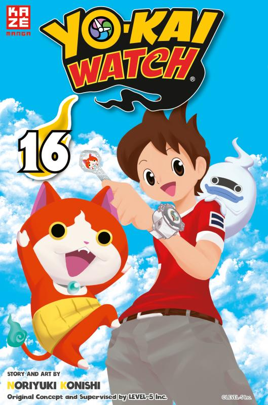 Cover-Bild Yo-kai Watch – Band 16