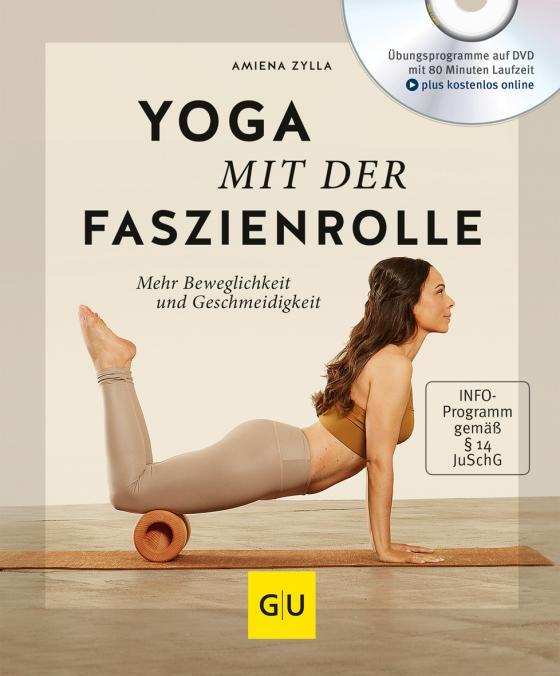 Cover-Bild Yoga mit der Faszienrolle (mit DVD)