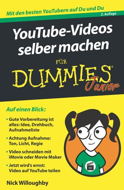 Cover-Bild YouTube-Videos selber machen für Dummies Junior