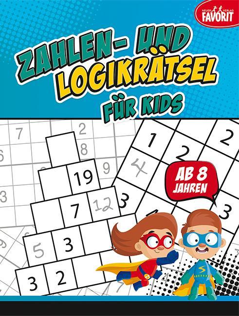Cover-Bild Zahlen- und Logikrätsel für Kids