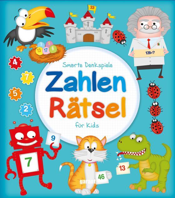 Cover-Bild Zahlenrätsel für Kids