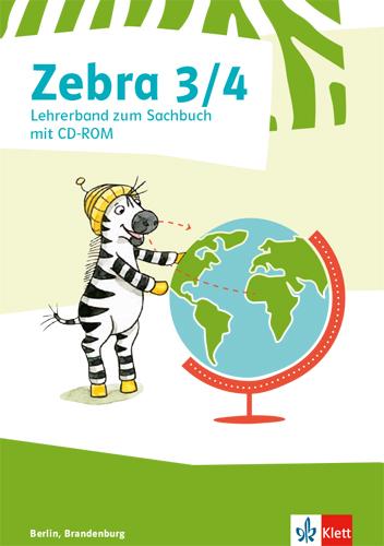 Cover-Bild Zebra Sachbuch 3/4. Ausgabe Berlin, Brandenburg