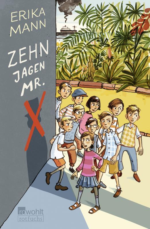 Cover-Bild Zehn jagen Mr. X