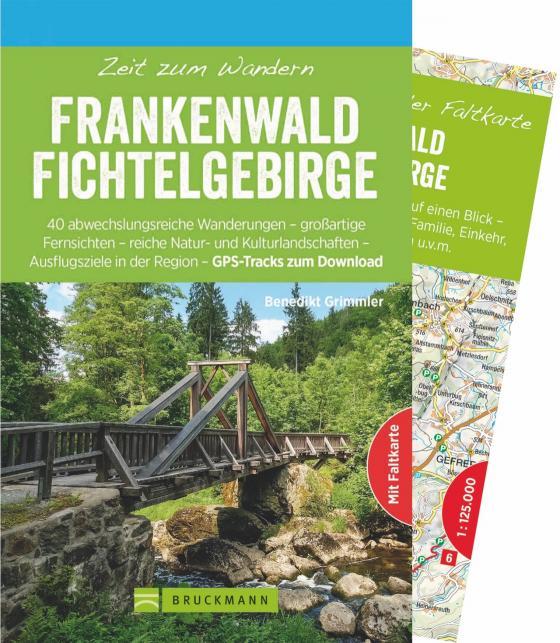 Cover-Bild Zeit zum Wandern Frankenwald Fichtelgebirge