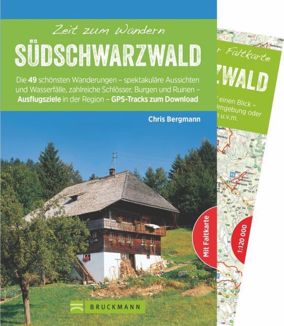 Cover-Bild Zeit zum Wandern Südschwarzwald