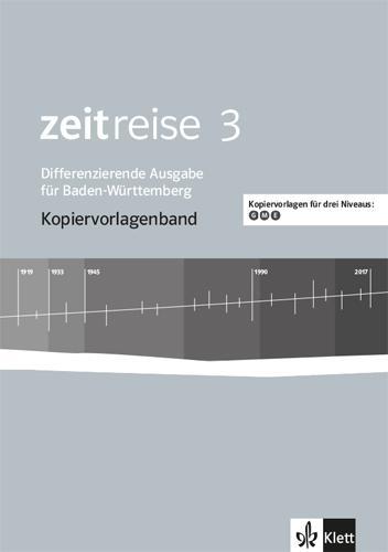 Cover-Bild Zeitreise 3. Differenzierende Ausgabe Baden-Württemberg