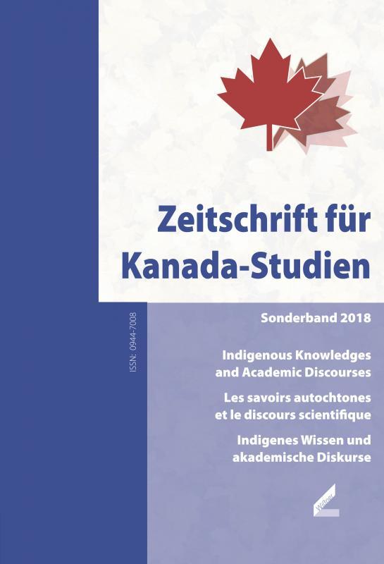 Cover-Bild Zeitschrift für Kanada-Studien