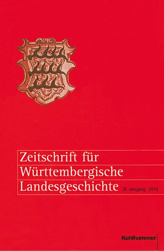 Cover-Bild Zeitschrift für Württembergische Landesgeschichte