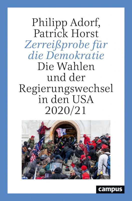 Cover-Bild Zerreißprobe für die Demokratie