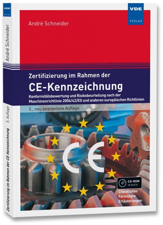 Cover-Bild Zertifizierung im Rahmen der CE-Kennzeichnung