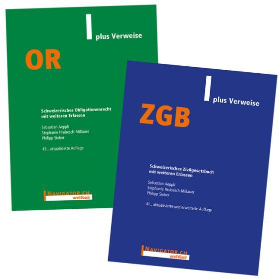 Cover-Bild ZGB & OR plus Verweise Kombipaket