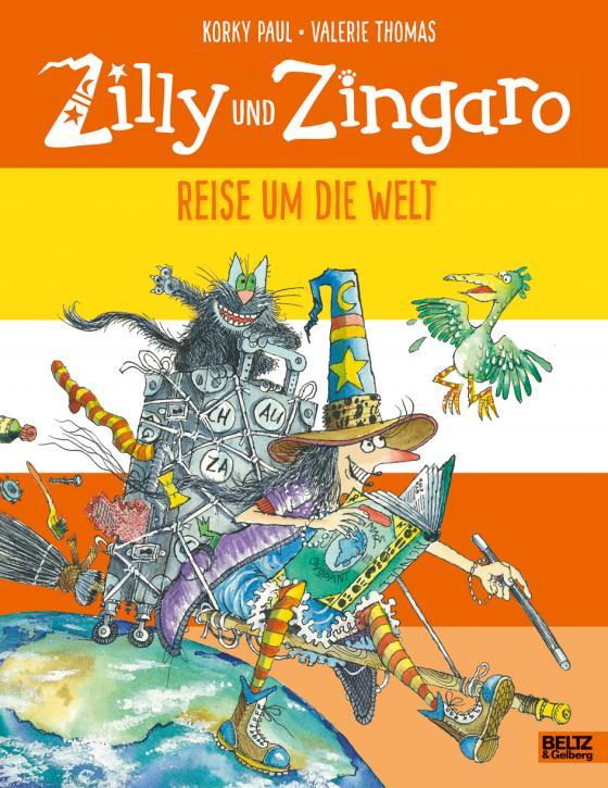 Cover-Bild Zilly und Zingaro. Reise um die Welt