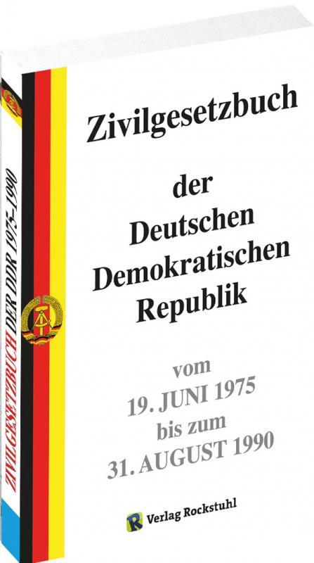 Cover-Bild Zivilgesetzbuch der DDR 1975-1990