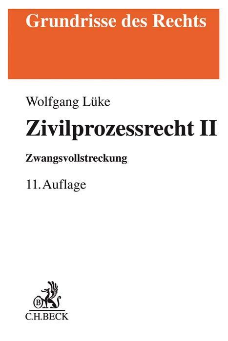 Cover-Bild Zivilprozessrecht II