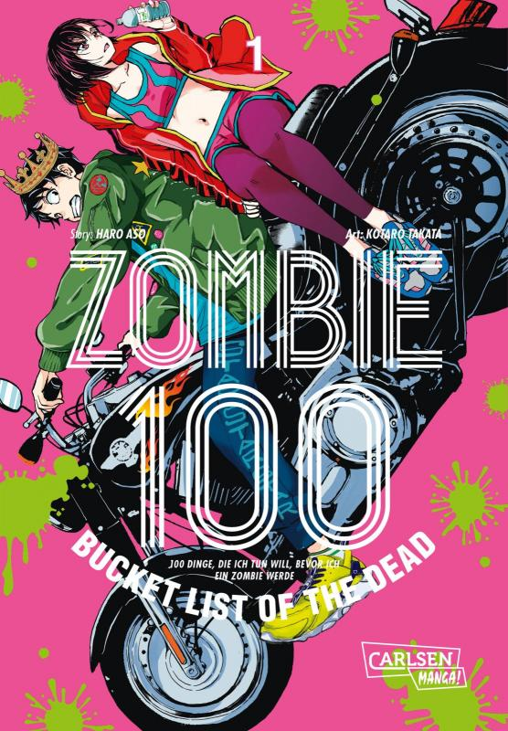 Cover-Bild Zombie 100 – Bucket List of the Dead 1