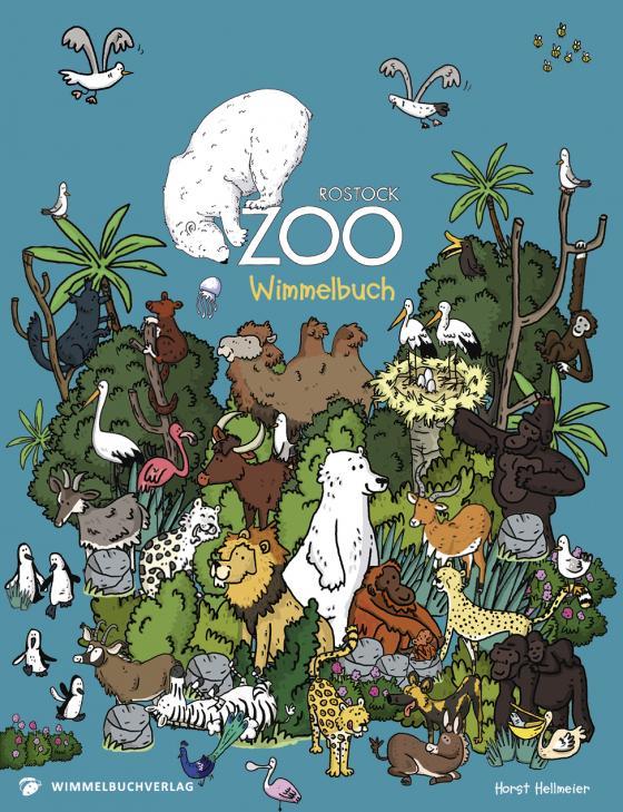 Cover-Bild Zoo Rostock Wimmelbuch