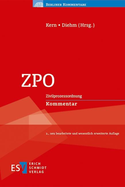 Cover-Bild ZPO