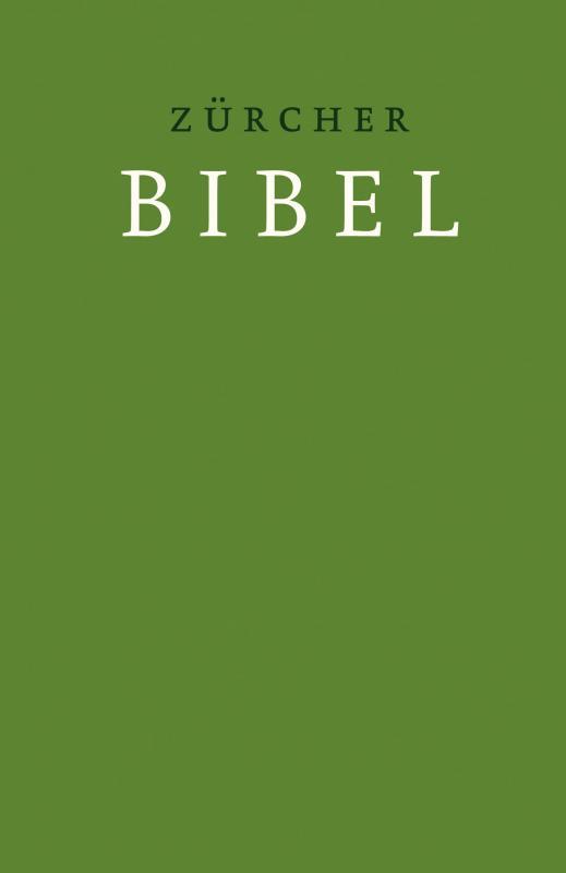 Cover-Bild Zürcher Bibel – Hardcover grün