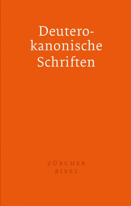 Cover-Bild Zürcher Bibel - Separata Deuterokanonische Schriften