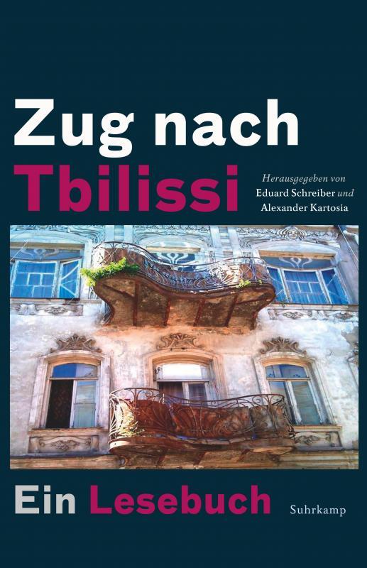 Cover-Bild Zug nach Tbilissi