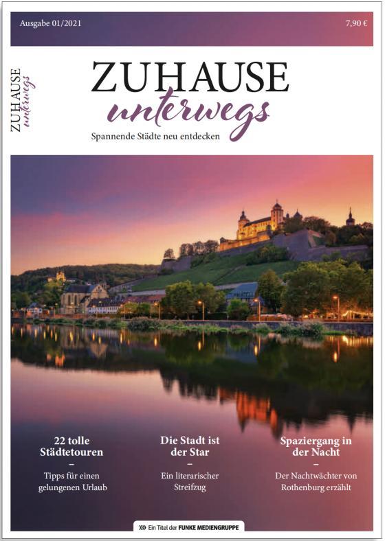 Cover-Bild Zuhause unterwegs - Städte entdecken