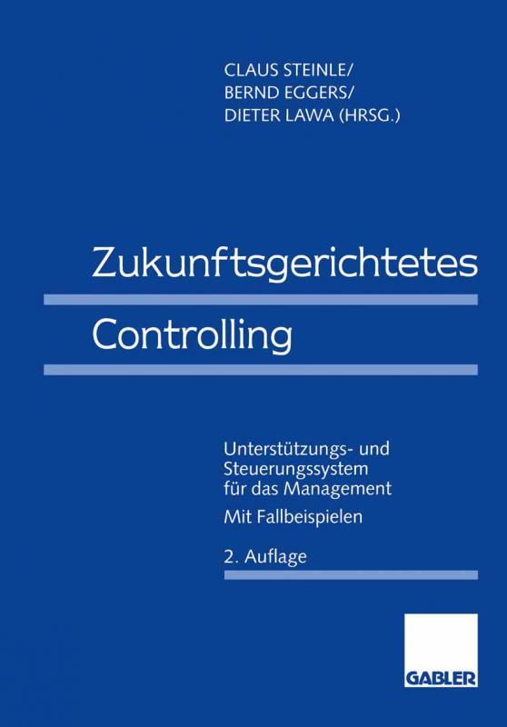 Cover-Bild Zukunftsgerichtetes Controlling