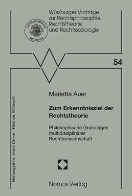 Cover-Bild Zum Erkenntnisziel der Rechtstheorie