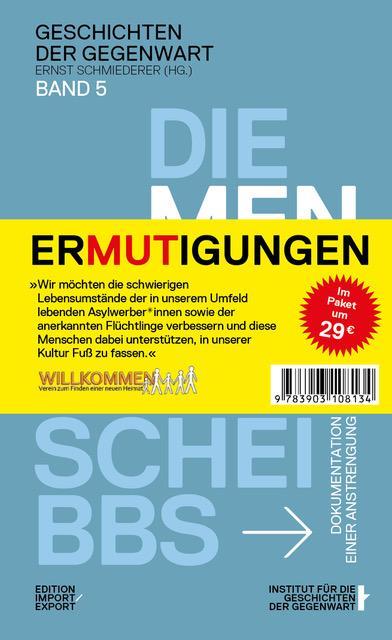 Cover-Bild ZUMUTUNGEN & ERMUTIGUNGEN