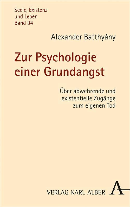 Cover-Bild Zur Psychologie einer Grundangst