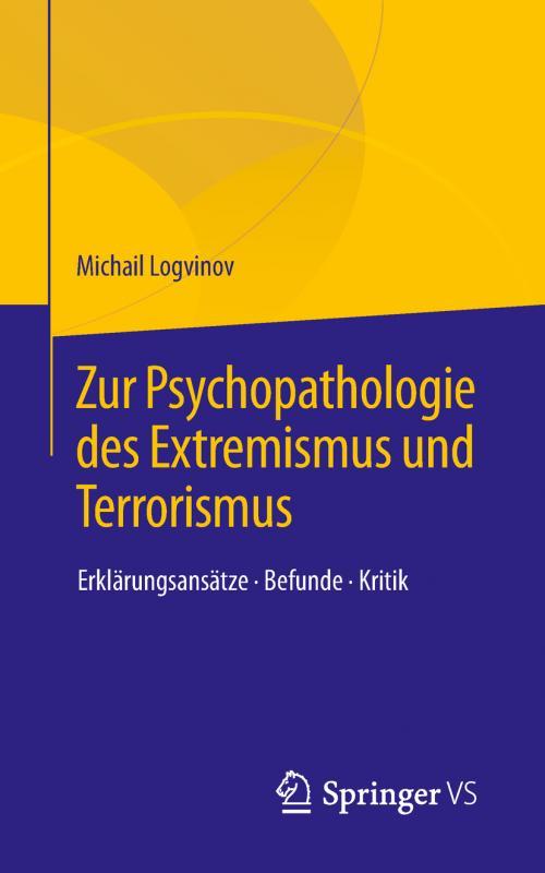 Cover-Bild Zur Psychopathologie des Extremismus und Terrorismus