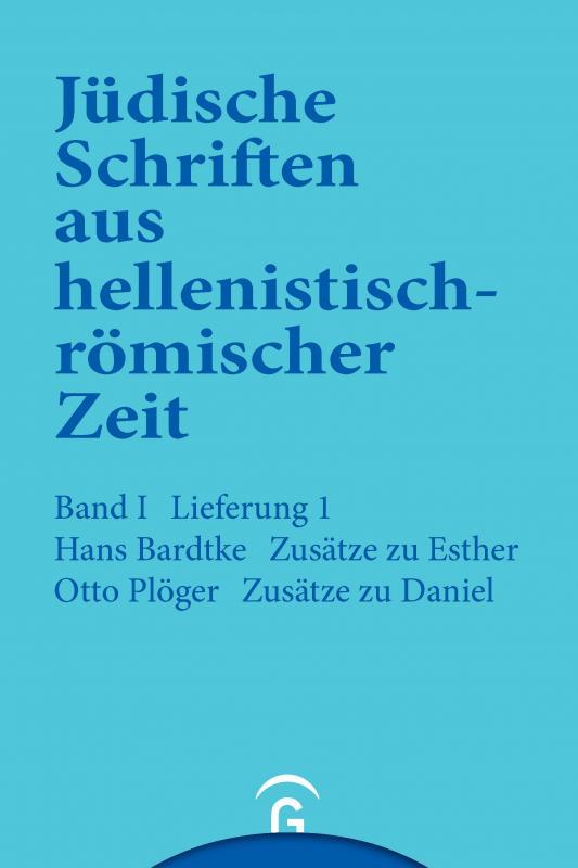 Cover-Bild Zusätze zu Esther. Zusätze zu Daniel