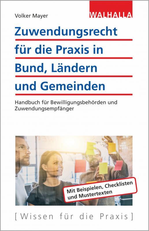 Cover-Bild Zuwendungsrecht für die Praxis in Bund, Ländern und Gemeinden