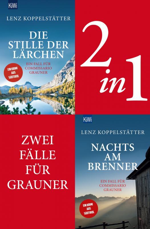 Cover-Bild Zwei Fälle für Commissario Grauner (2in1-Bundle)
