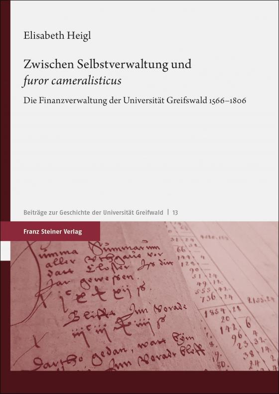 """Cover-Bild Zwischen Selbstverwaltung und """"furor cameralisticus"""""""