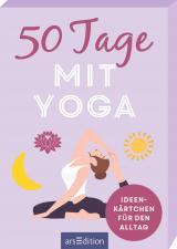 Cover-Bild 50 Tage mit Yoga. Ideenkärtchen für den Alltag