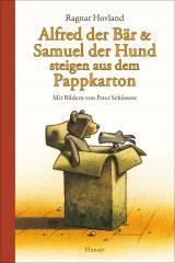 Cover-Bild Alfred der Bär und Samuel der Hund steigen aus dem Pappkarton