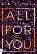 Cover-Bild All for You – Liebe