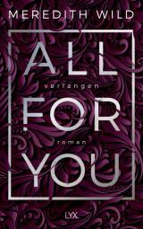 Cover-Bild All for You - Verlangen