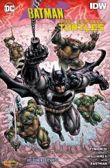 Cover-Bild Batman/Teenage Mutant Ninja Turtles: Helden in der Krise