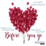 Cover-Bild Before you go - Jeder letzte Tag mit dir