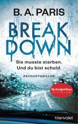 Cover-Bild Breakdown - Sie musste sterben. Und du bist schuld
