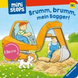 Cover-Bild Brumm, brumm, mein Bagger!