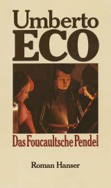 Cover-Bild Das Foucaultsche Pendel