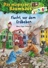 Cover-Bild Das magische Baumhaus junior 22 - Flucht vor dem Erdbeben